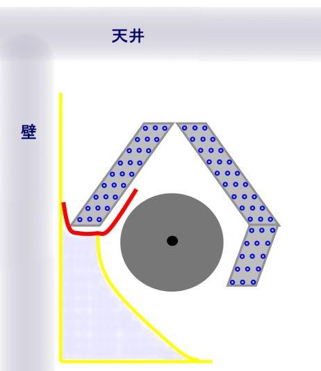 エアコン断面図3