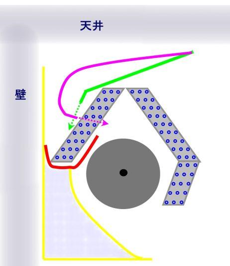 エアコン断面図5